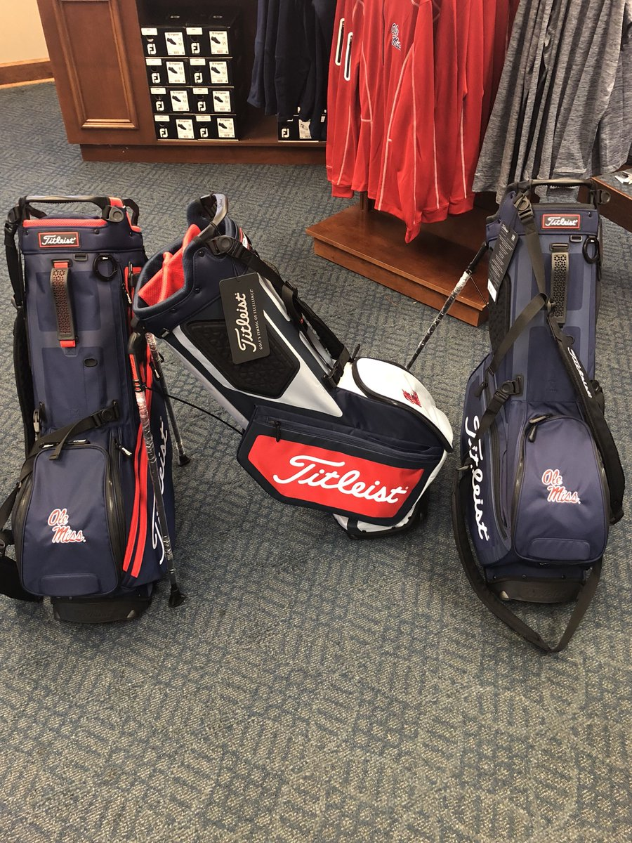 Ole Miss Golf Course On Twitter Leist Bags In Stock Front Pocket Come Get Yours Today