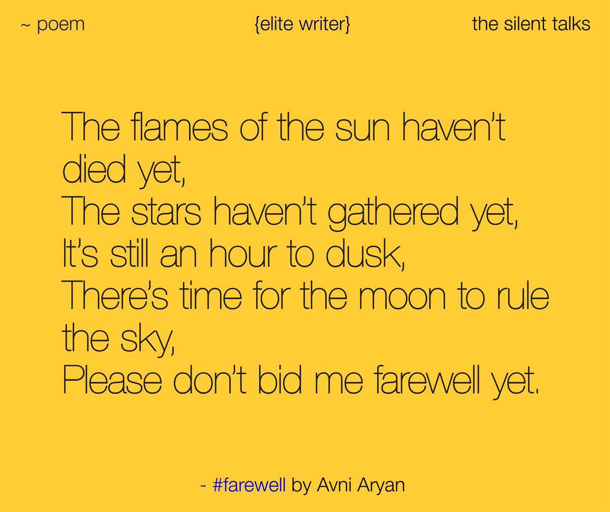 the silent talks on Twitter: