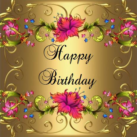 Happy birthday  Have a wonderful and lovely time Best wishes
