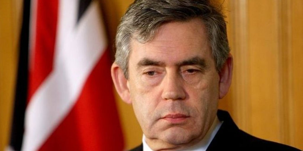 Gordon Brown reveals his fear of completely loosing his #eyesight during his time as prime minister    http:// bbc.in/2iKbdaS  &nbsp;  <br>http://pic.twitter.com/D0en5neBOd