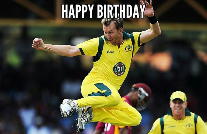 Happy birthday to Brett Lee..   Do you know how old he is now??