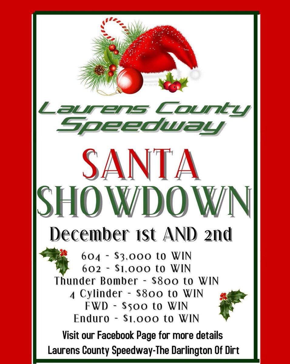 Laurens Speedway on Twitter: \