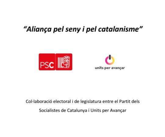 Units Per Avançar : documento PSC Units Per Avançar sellado https |  eldiario.es | Scoopnest