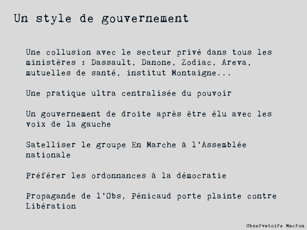 Macronscope n°1 ! #Assembleenationale #Macron #6mois #gouvernement  #LREM (5/6) <br>http://pic.twitter.com/p2AcfkZYra