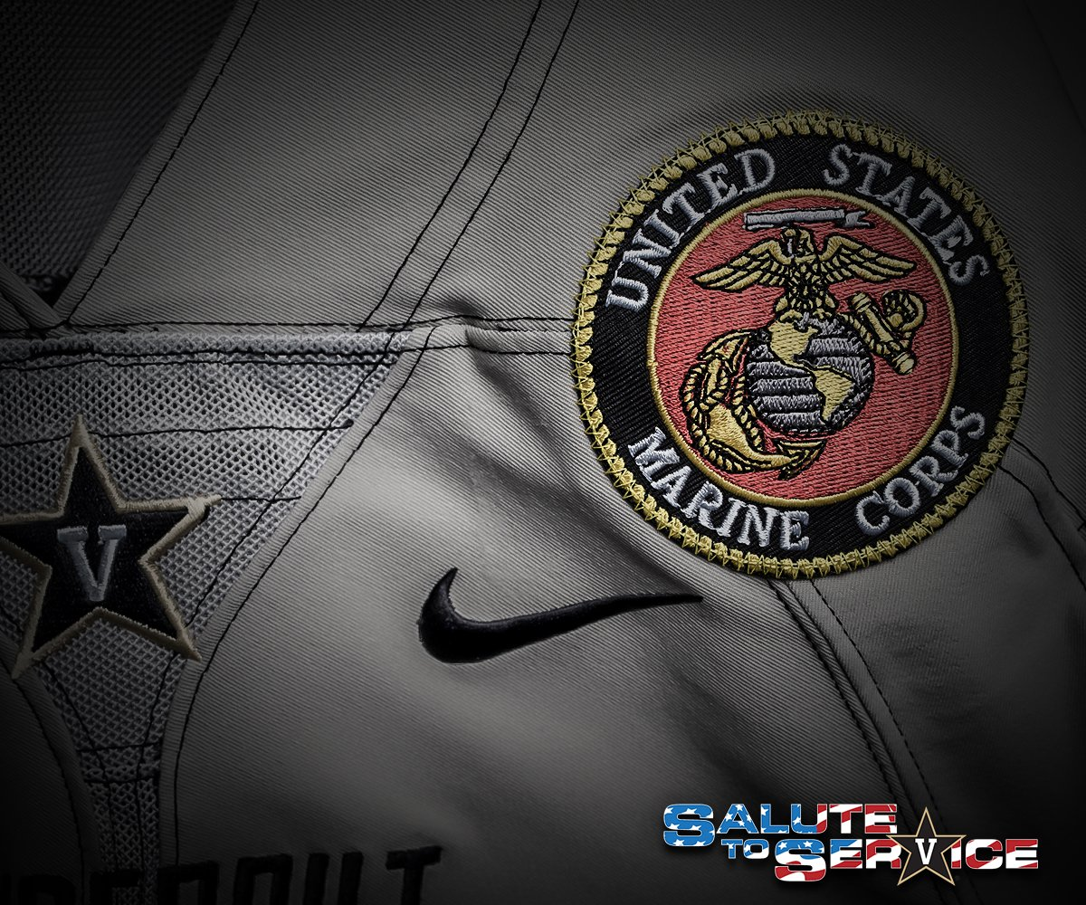 """The Commodores partnered with Medals of Honor on special edition """"Deep Water""""  uniforms 7f58abb76"""