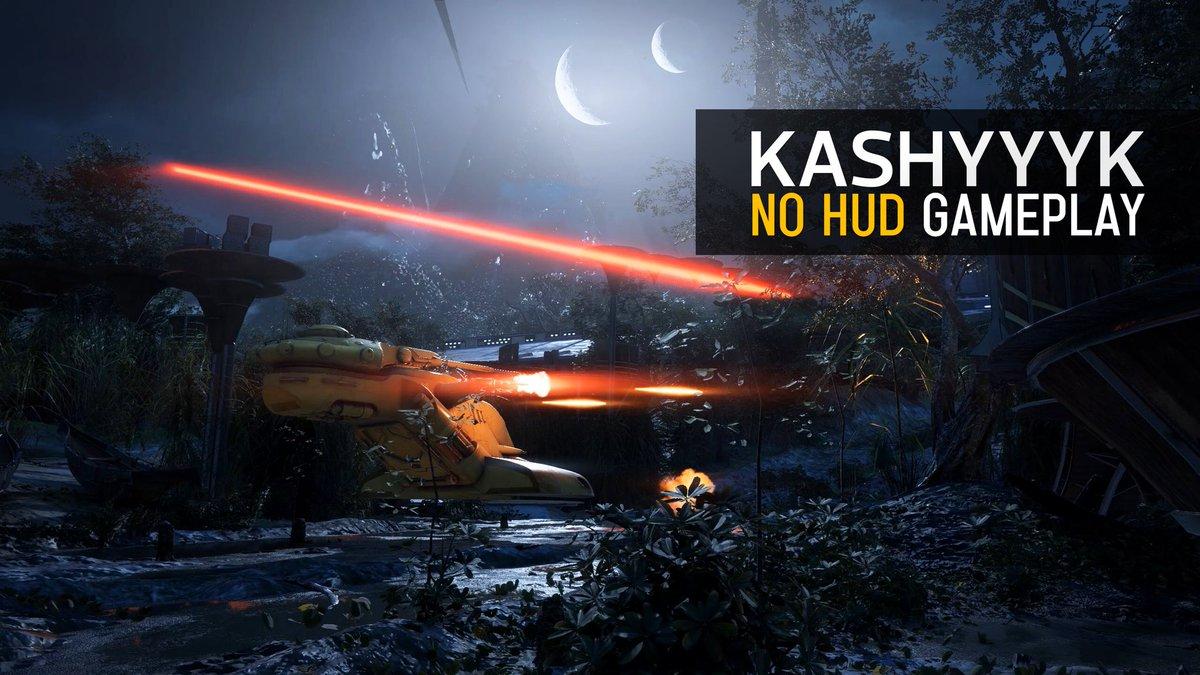Cinematic Captures On Twitter Battlefront II Kashyyyk Night Map No HUD 1440p 2K Gameplay Tco R7wBvcAHLi Via YouTube