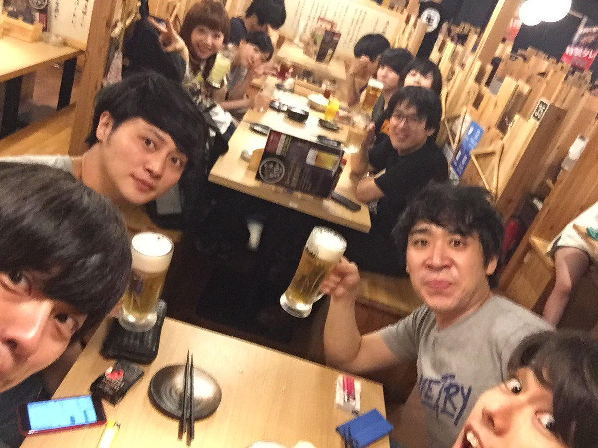 パーパー ほしのディスコ, パーパー山田愛奈, ユウキ(ADVANCE) and 5 others