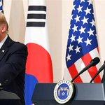 """米韓2者会談は26分間で終了 トランプ大統領はビジネスライクな姿勢を隠さず """"蜜月""""安倍首相との格差…"""