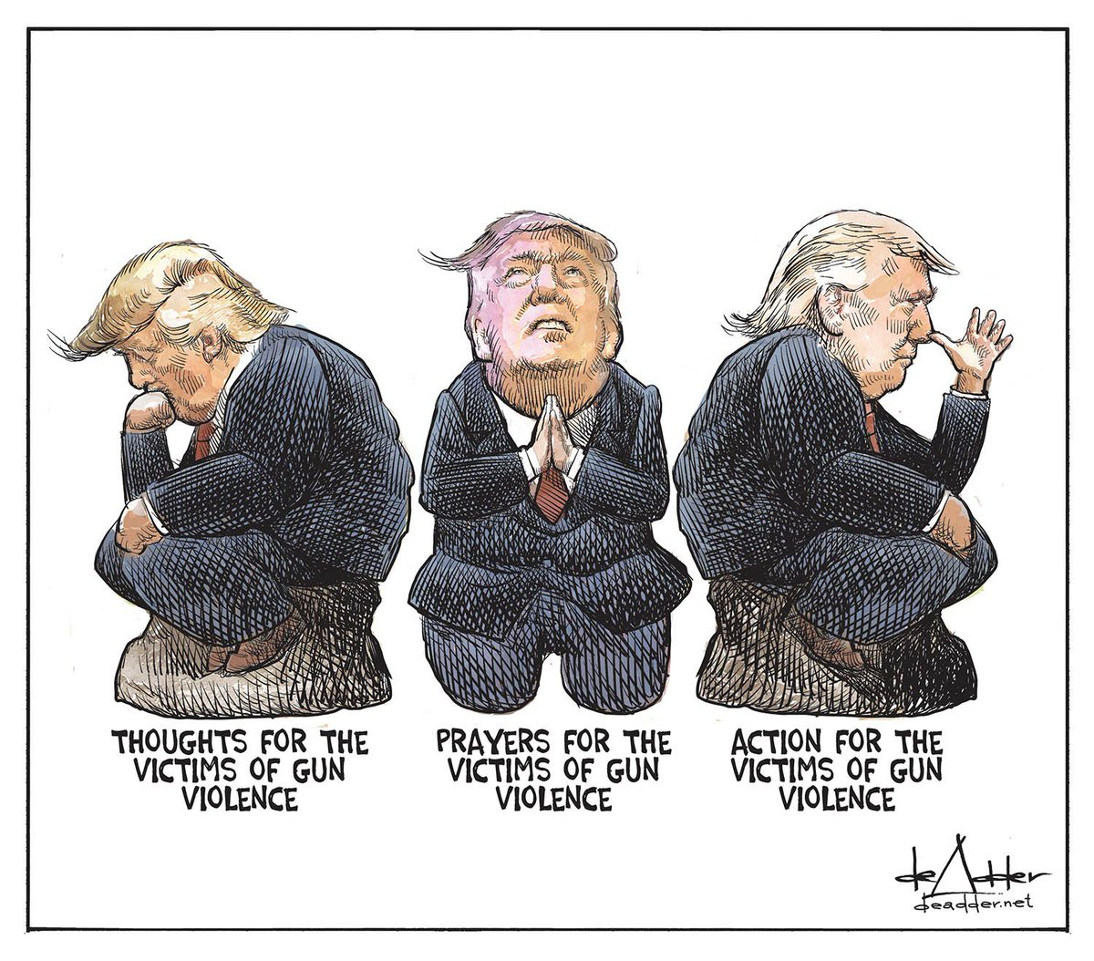 Image result for trump praying cartoon