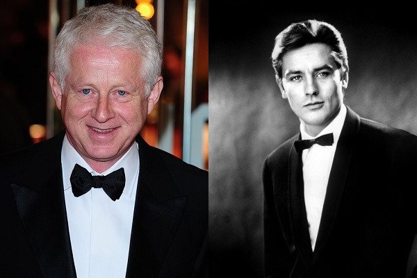November 8: Happy Birthday Richard Curtis and Alain Delon