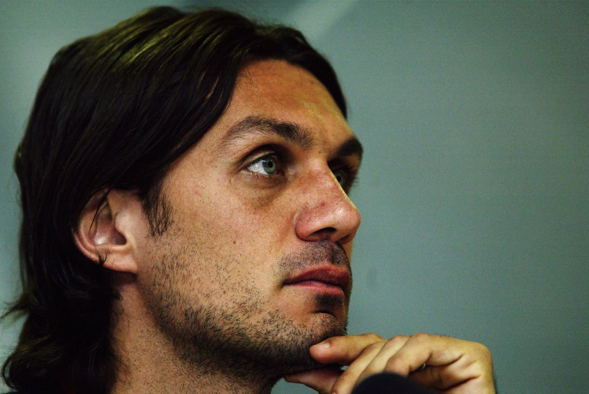 """@MundialMag @AccidentalP Paolo Maldini: """"If I have to make a tackle then I have already made a mistake.""""  #WednesdayWisdom #UCL"""