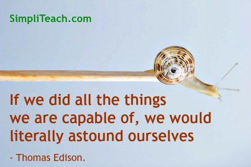 This is so true of #teachers! What amazing thing will you do today? #education #quote<br>http://pic.twitter.com/QSmR3n8IPp