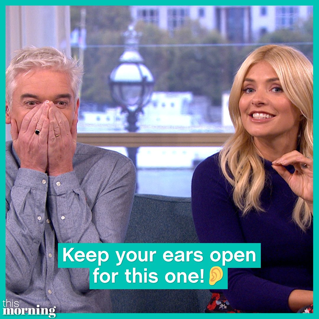 RT @thismorning: You'll never unhear this! 😂 🔊  Video credit: Marks and Spencer https://t.co/UXZIAr6c6A