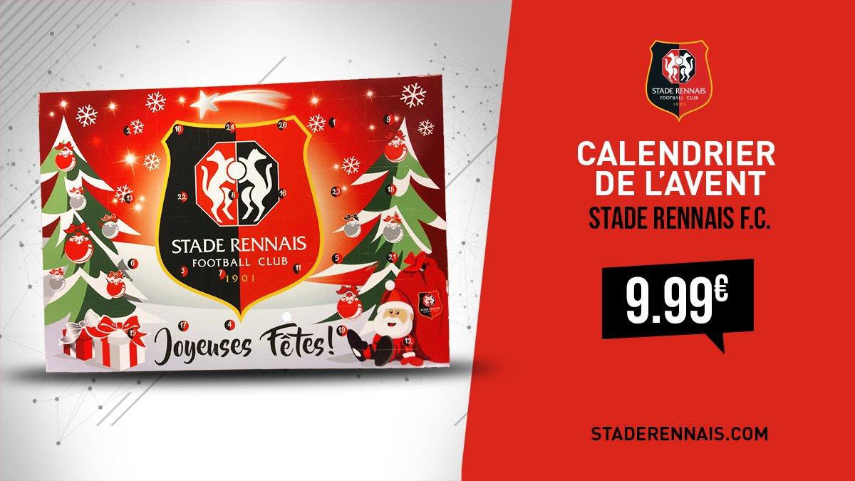 Calendrier De Lavent Football.Stade Rennais F C On Twitter Noel Approche A