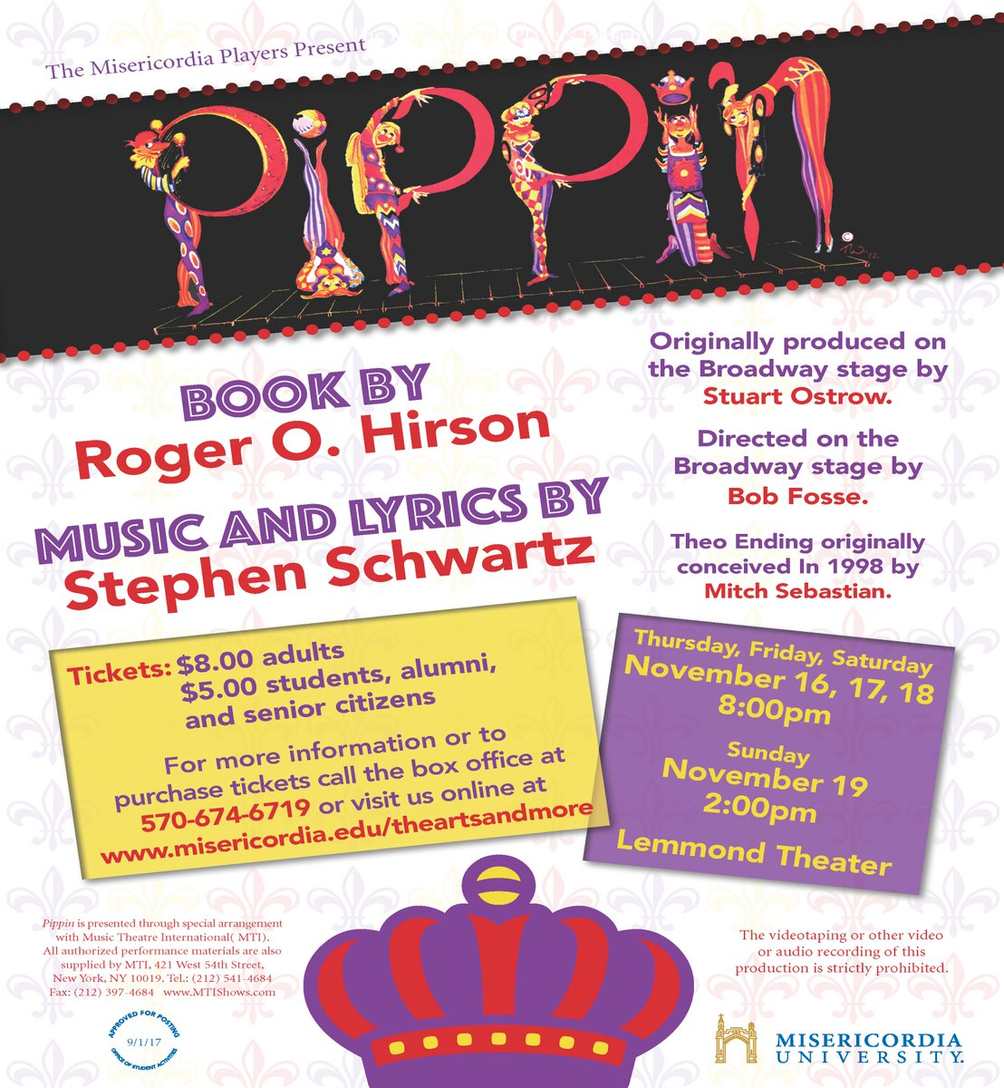 Misericordia u on twitter misericordiau presenting the musical misericordia u on twitter misericordiau presenting the musical pippin on nov 16 19 httpstgrf1opjx93 and nepascene httpstz8lgz3t9gx stopboris Images