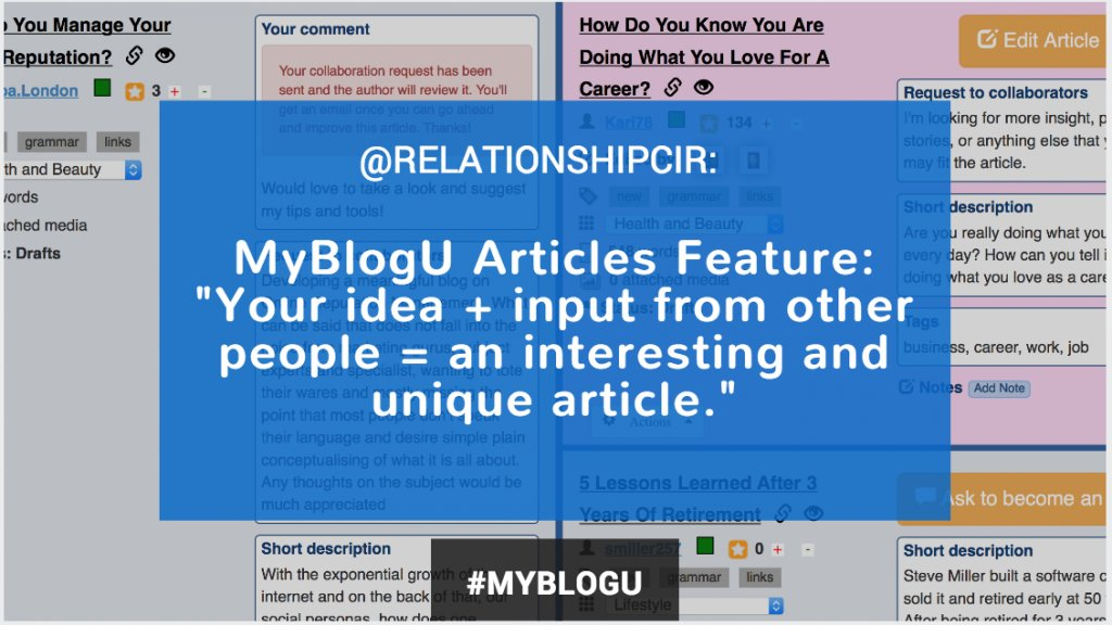 MyBlogU Twitter chat: Blogging for Success | #myblogu | Twitter Chat