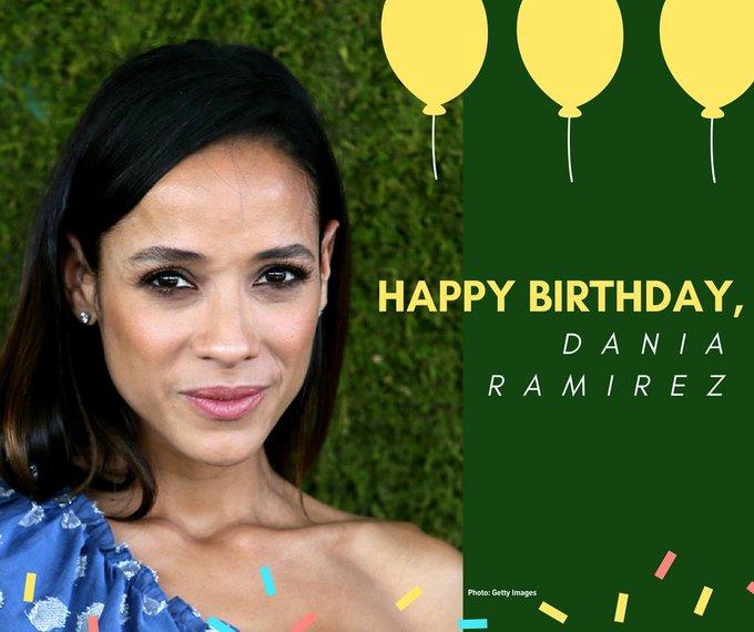Happy birthday, Dania Ramirez!