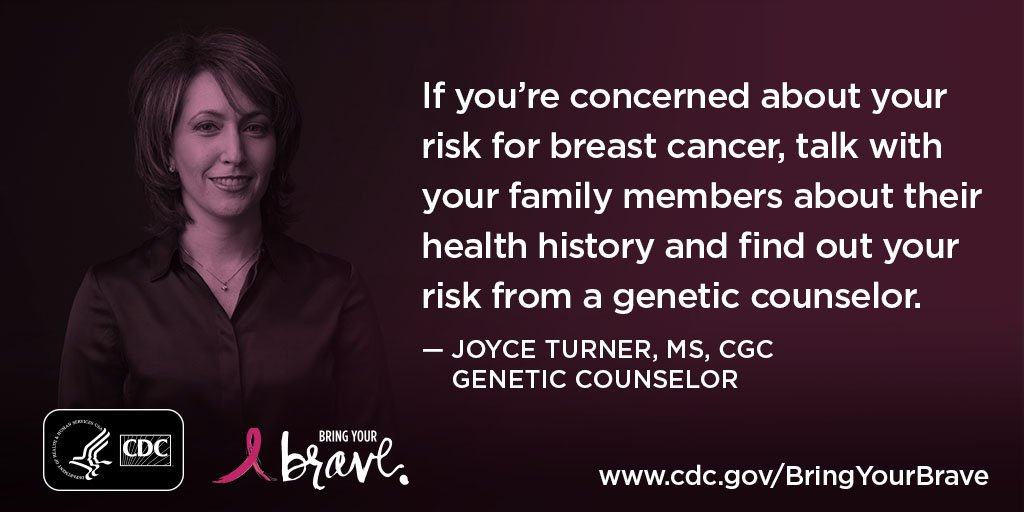 Video: A genetic counselor explains how a family history of #BreastCancer may affect your own risk  http:// bit.ly/2bHLxmE  &nbsp;   #BringYourBrave<br>http://pic.twitter.com/VtQiyIp3mf