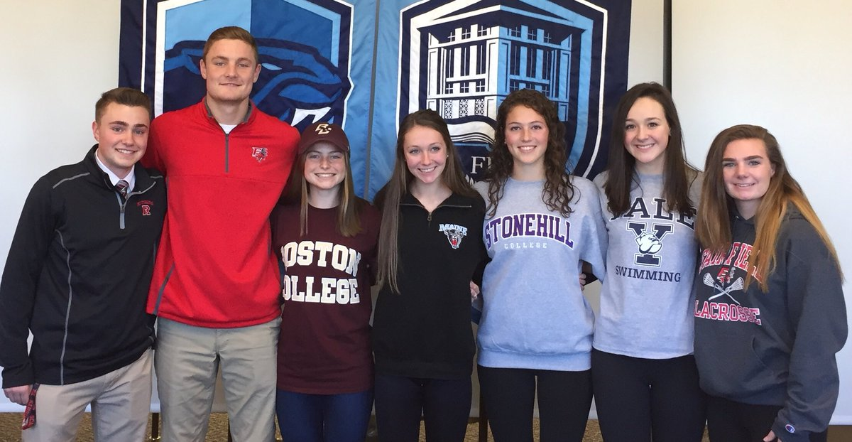 CONGRATS to our student-athletes who signed their National Letters of Intent today! #NLI #PantherPride