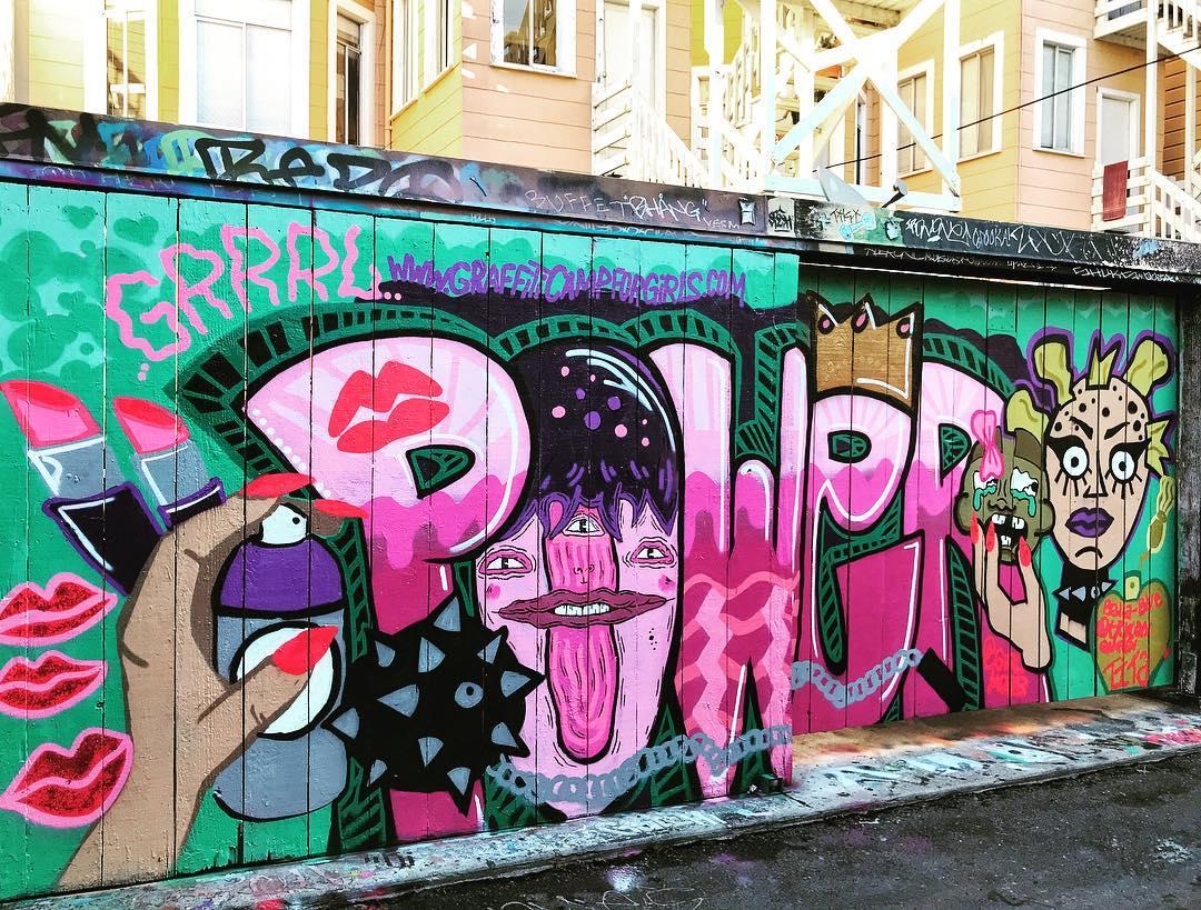 An Oakland-Based Graffiti Camp That's Just For Girls https://t.co/dp3omcJfiG https://t.co/jAtvNEtftl
