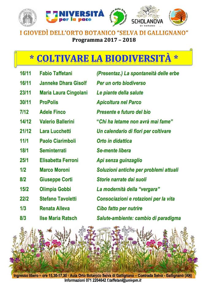 Calendario Univpm.David Fiacchini On Twitter Incontri Divulgativi A