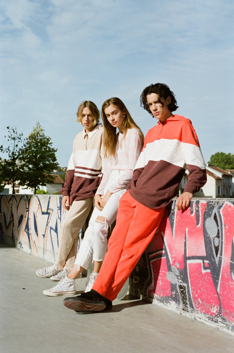 """Inspired by skaters in the 70's our latest collection celebrates  Californian cool  lifestyle. Discover """"Dogtown"""" for men & women on  @radshop https://t.co/yukEktBFyR https://t.co/bKUSrWlbVW"""