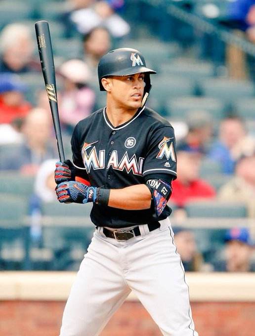Happy 28th Birthday to the defending home run champion, Giancarlo Stanton