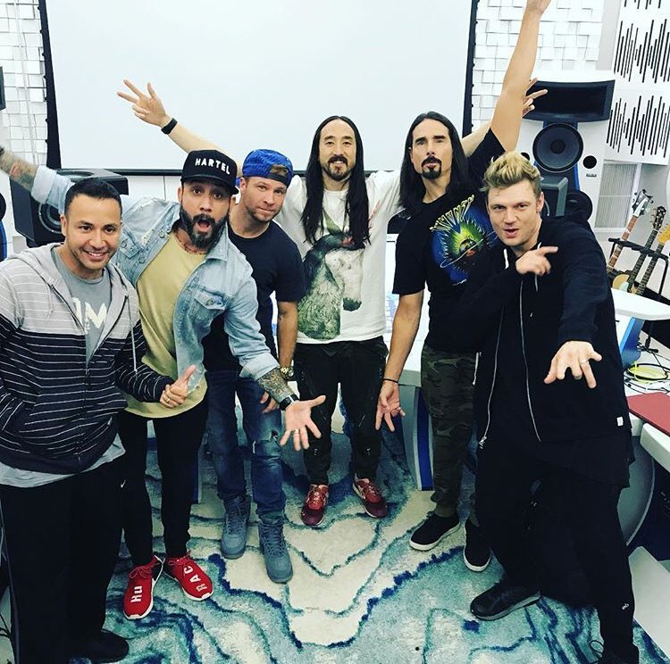 Steve Aoki May Collaborate with The Backstreet Boys