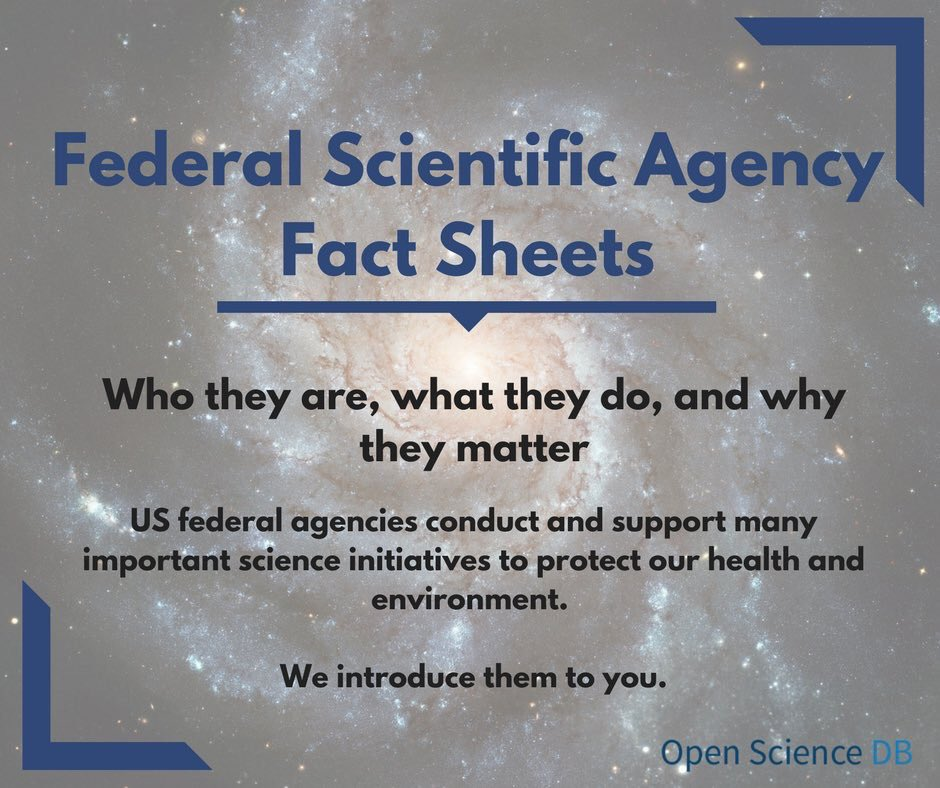 Our Federal Scientific Agency Fact Sheets introduce you to the important science our government conducts and supports #fundUSAscience #SciComm #SciPol <br>http://pic.twitter.com/Bx1GUYrVqp