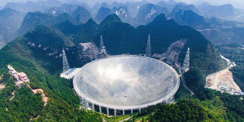 الصين تسعى للتواصل مع الفضائيين