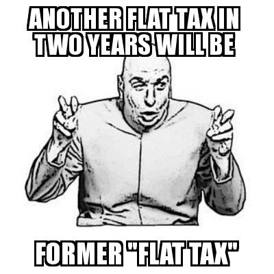 A lot of folks think a flat income tax solves complexity issues. It will not stay flat. No income tax ever has. @realDonaldTrump @Mike_Pence @larry_kudlow time to run on #TrueTaxReform in 2020. Go #FAIRtax.<br>http://pic.twitter.com/2cF4VxhS1I