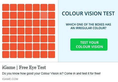 Is your #colorvision more comparable to that of a mole or a hawk? Take this test to find out!  http:// ow.ly/tYYH30grNU2  &nbsp;   #vision #eyesight <br>http://pic.twitter.com/FYcForAZ15