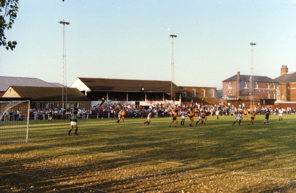 Vince taylor on twitter action from the notts county v wolves action from the notts county v wolves bass charity vase match at peel croft in 1989 soon to disappear peel croft was once home to football league burton reviewsmspy
