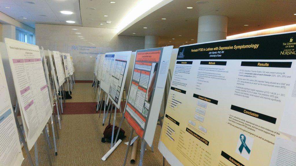 Presenting @IDEA_Research  #perinatalmentalhealth #research posters @NorthwesternU #PNMHC2017<br>http://pic.twitter.com/ZehWYT11sZ