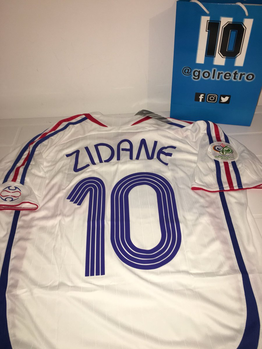 RT @golretro: #zidane #francia #2006 todos los talles. Wapp 1157106232 https://t.co/xJxkSL8Jyb
