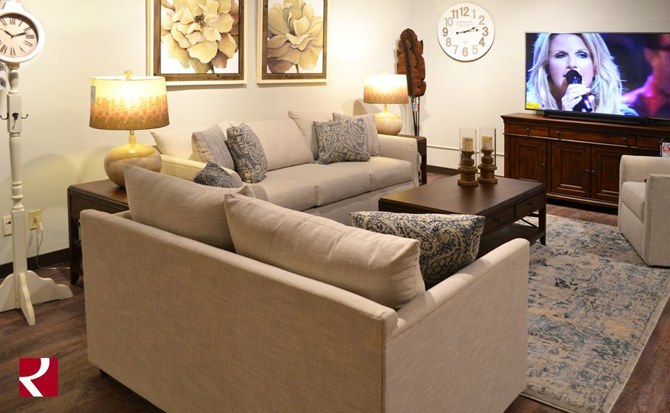 We hope you can watch the #CMAawards in some cozy furniture from @trishayearwood! #TYHomeCollection Enjoy the show!