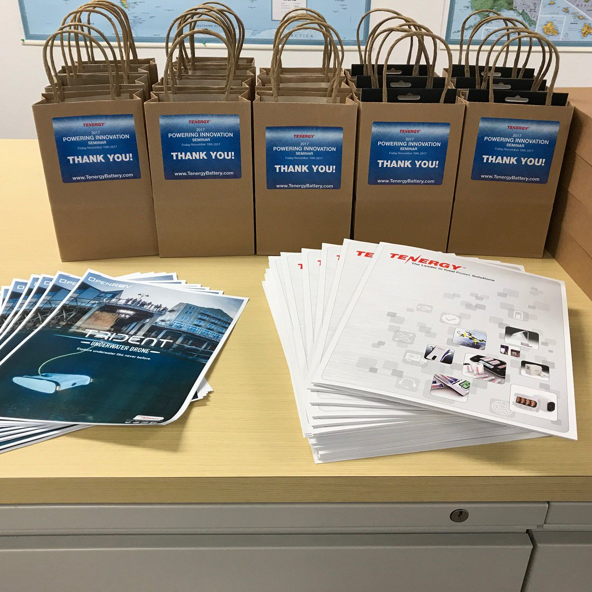 The gifts are ready for our lucky #Seminar attendees #Powering #Innovation #Tenergy https://t.co/NWbDN29qtp