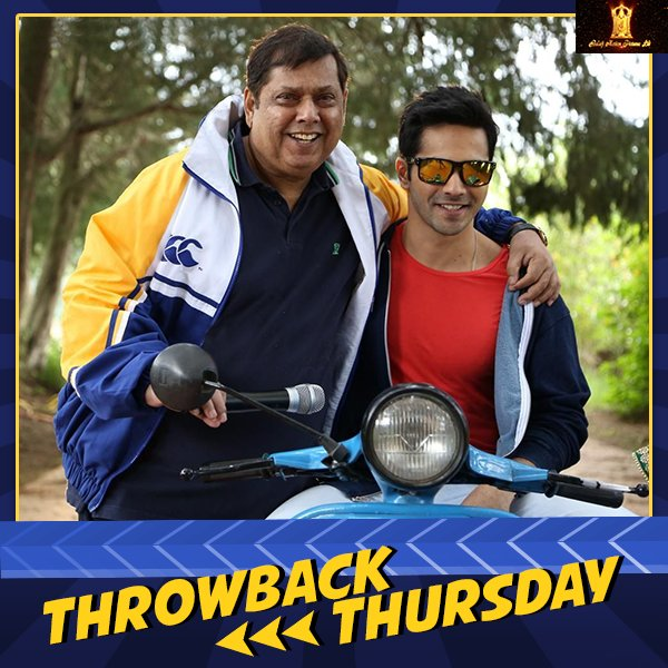 This father-son duo gave us the best romcom of 2014. Tell us your favorite dialogue from #MainTeraHero. #ThrowbackThursday #BalajiMotionPictures #DavidDhawan @Varun_dvn<br>http://pic.twitter.com/SThecT8MOm