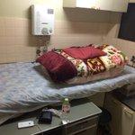 夫が京都で泊まった部屋がヤバイ!雑すぎる作りが笑える!