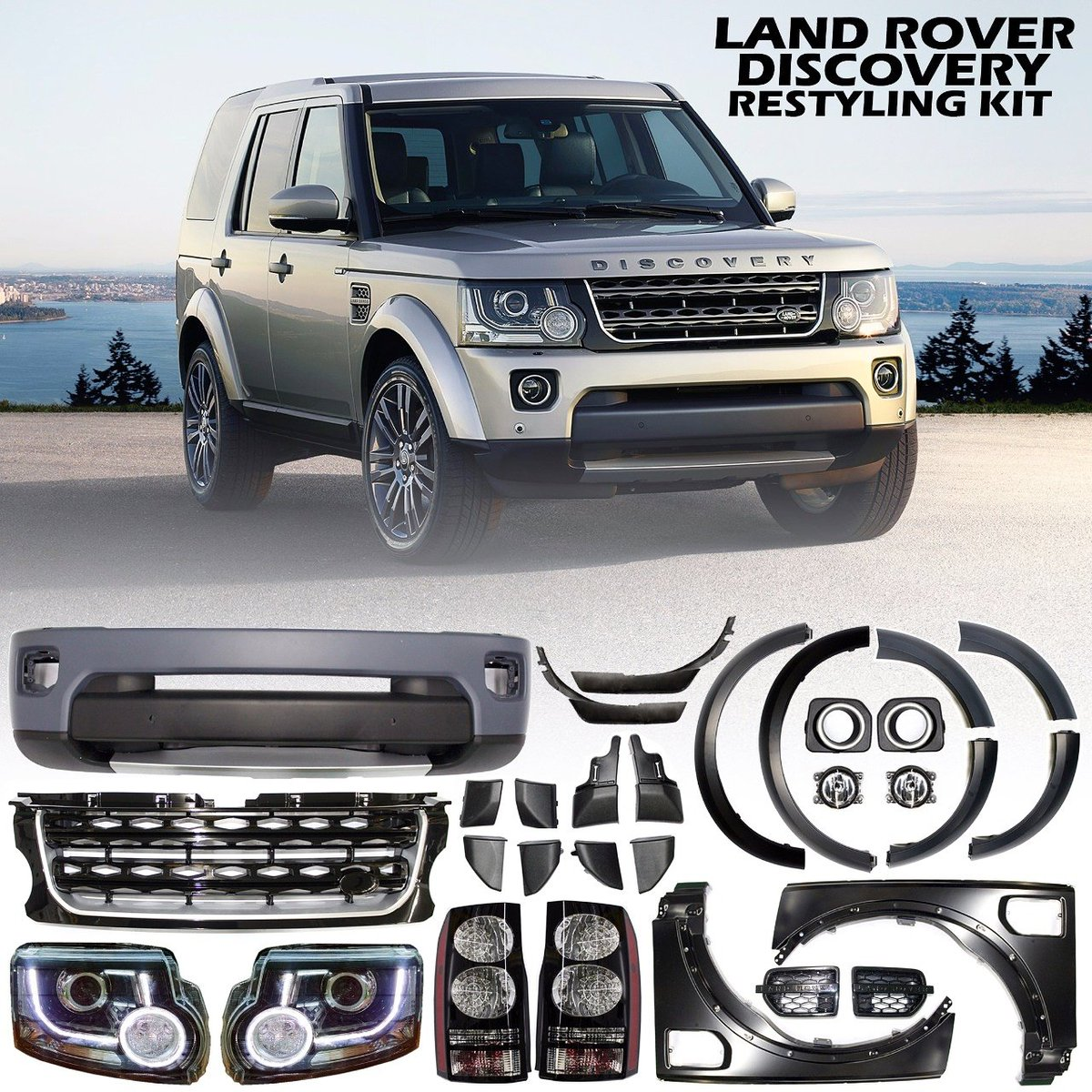 """4x4 Auto Accessories On Twitter: """"Restyling #kit For Land"""