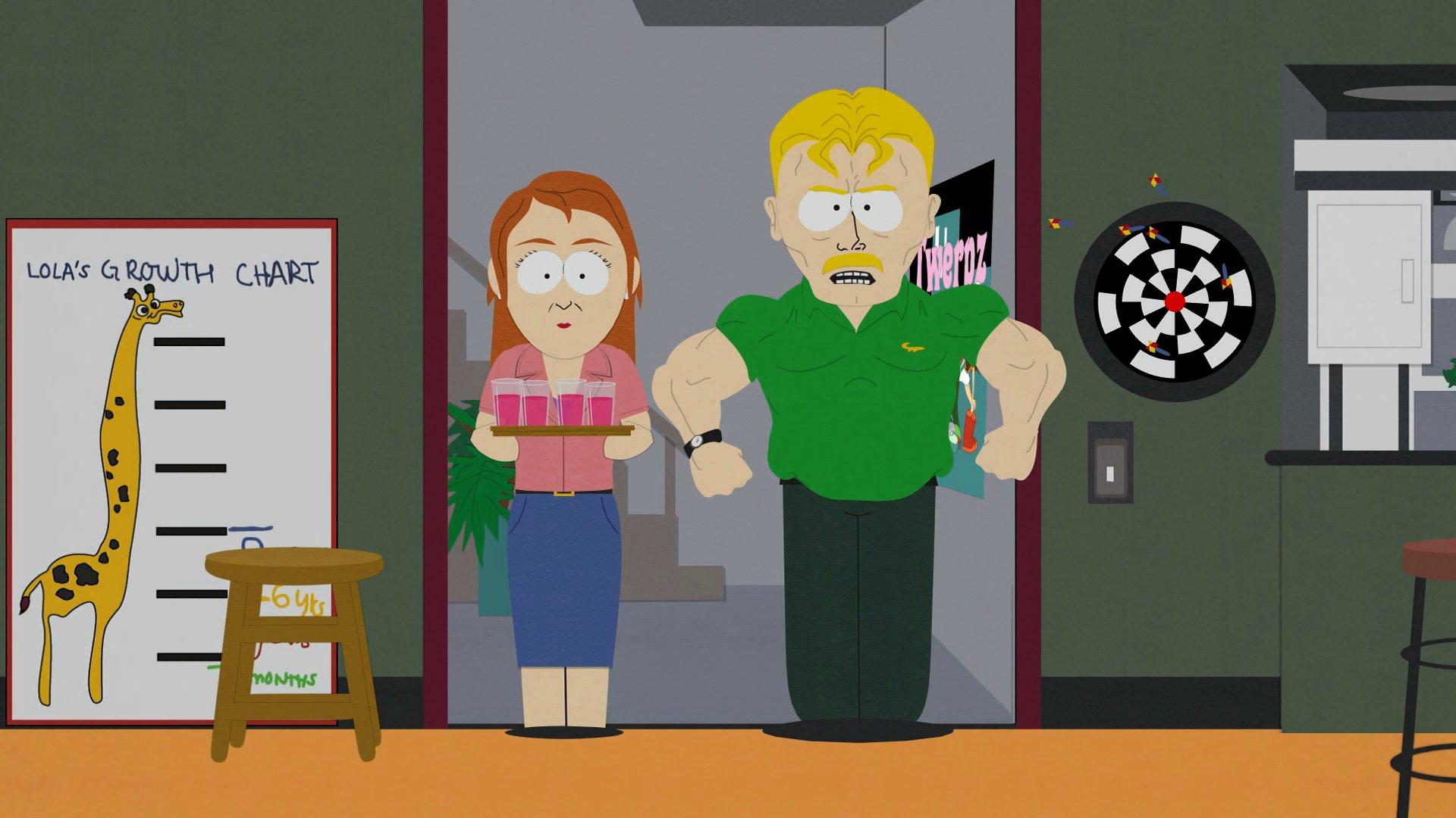 Heidi's dad first appeared way back in season 9's Marjorine.