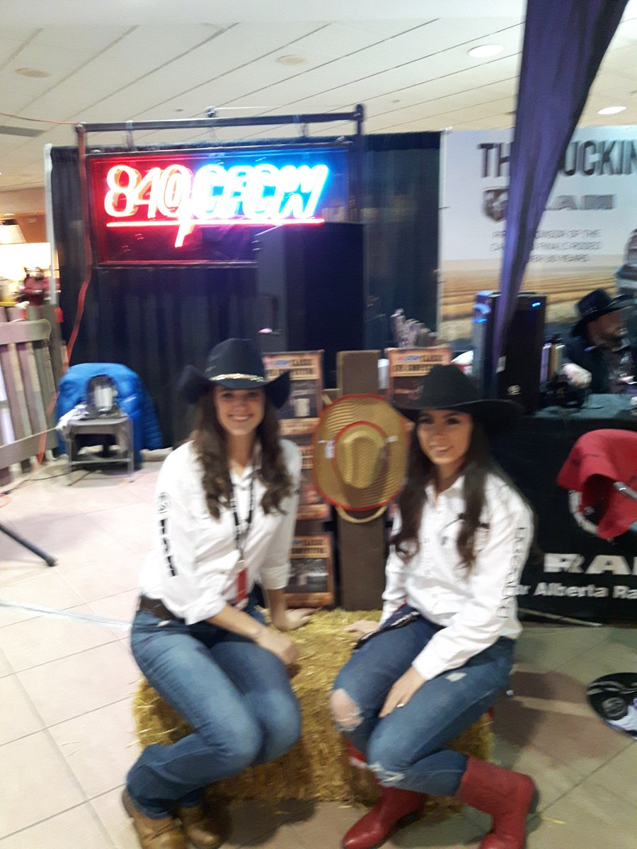 Come down and say hi to us at Canadian Finals Rodeo. Last year of the CFR. So many memories @Lammles @SherwoodFord – at Northlands Coliseum