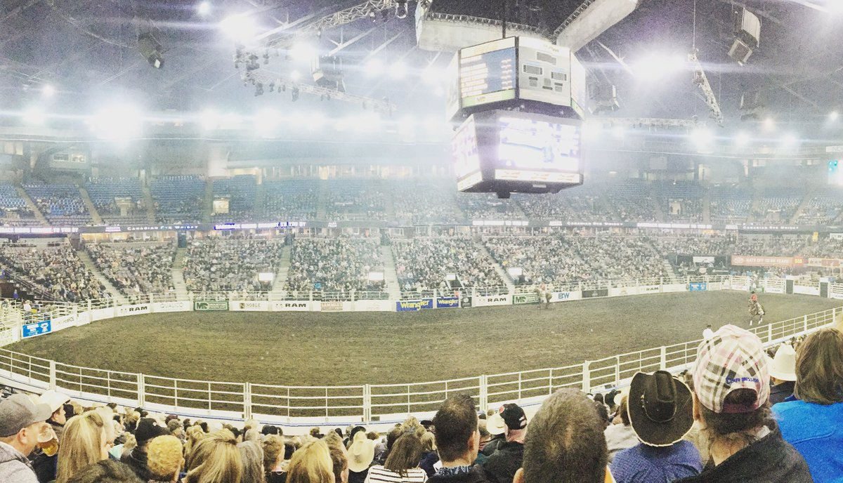 Here we go Edmonton!! @cfr_rodeo So proud to have one last round as Official Retailer! Thank you @Northlands for the memories.