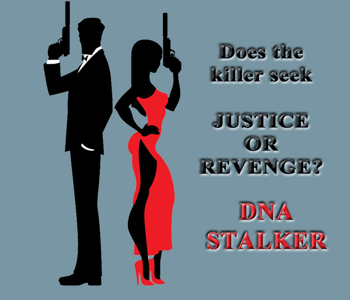The Stalker's hunt started in 1978 after the Jonestown Massacre. The #Stalker is determined and deadly! Now Jason and Natalia must protect six sets of identical twins onboard the ship.   DNA STALKER by Diane Rapp: http://myBook.to/DNA-Stalker    #ArtKNBpic.twitter.com/XpAUWex6uf