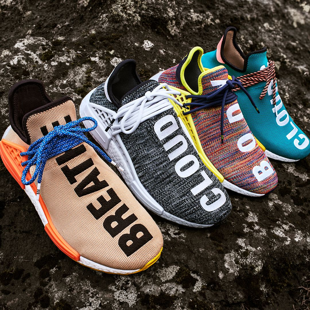 c14fccb14 The raffle for the Pharrell Williams x Adidas NMD HU Trail collection will  be held all day tomorrow IN STORE ONLY at all BAIT locations.