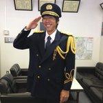 この後、14:30から麻生消防署一日消防署長に就任するケンゴ。(ケンゴは変わらず通常運転です)【広報…
