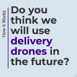 Our team is busy writing about #deliverydrones. Is this the future?