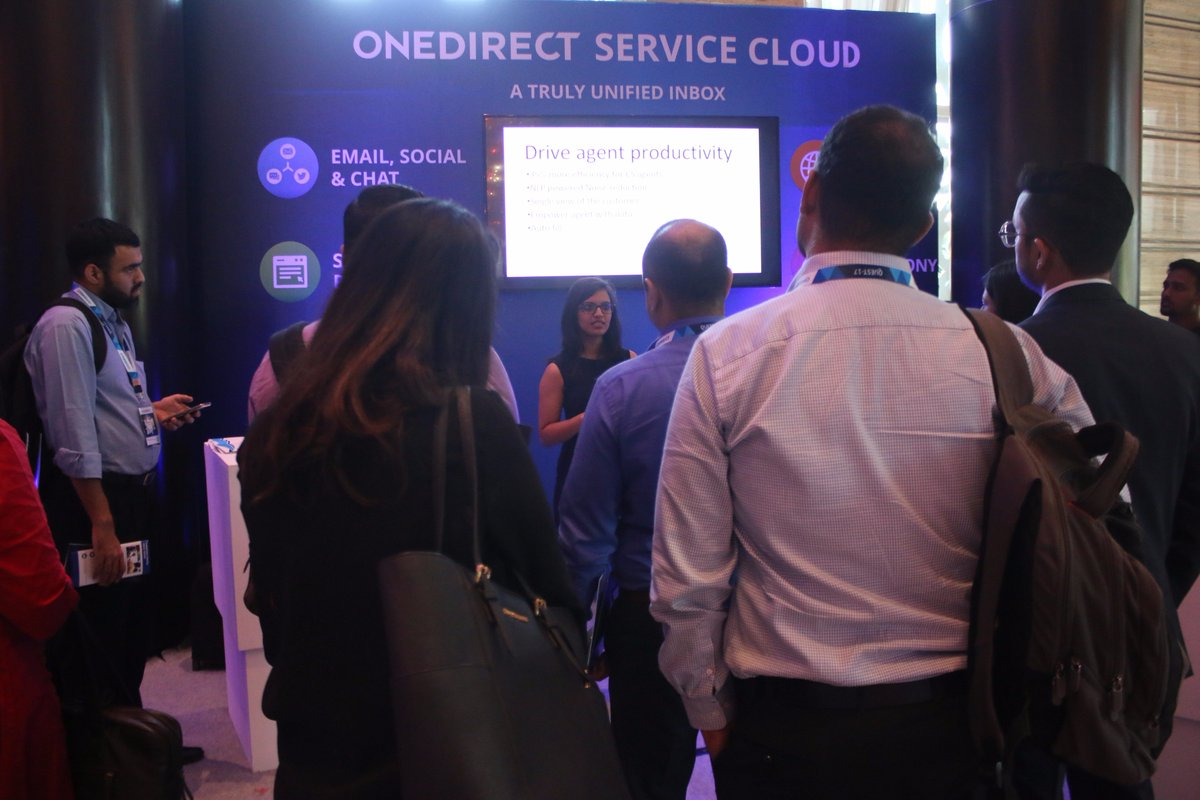 """The flagship model of @Onedirectcx  """"The Onedirect service cloud""""  is showcased at the #ExperienceZone in the #Quest2017. #CXInnovation #CustomerExpreience #CX #CustomerDelight #CXMeet #CEM https://t.co/5ZdSiGUqJJ"""