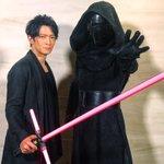 カイロ・レンの吹替え声優、津田健次郎さんとカイロ・レンの貴重なツーショット✨ 会場のファンの皆さんも…