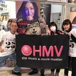 HMV SPOTあべのQ's モール様!突然スイマセンデシタ!引退シテシマウ(泣)安室奈美恵さんノラ…
